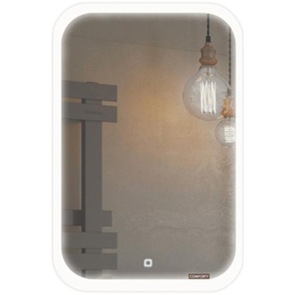 Зеркало Comforty Пион 60 00-00000700 с подсветкой с сенсорным выключателем зеркало geberit option 60 с подсветкой 500 586 00 1