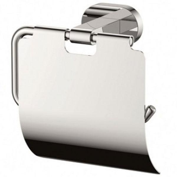 Держатель туалетной бумаги Kaiser KH-2010 с крышкой Хром