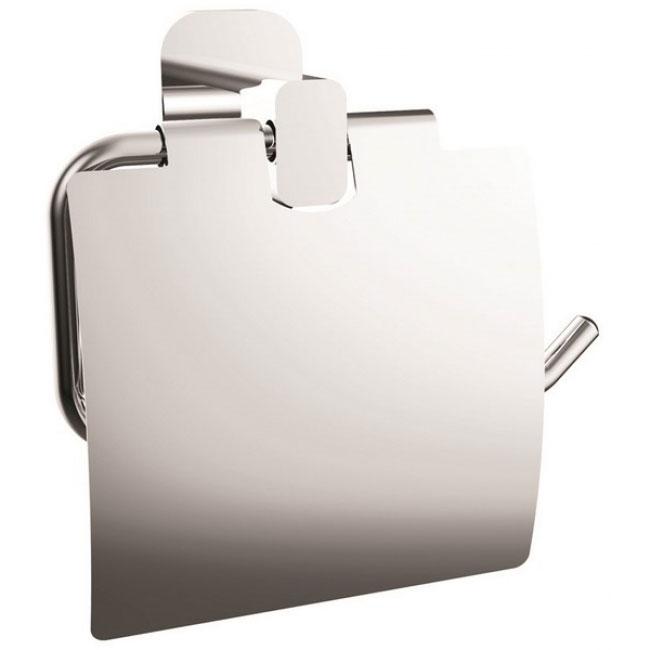 Держатель туалетной бумаги Kaiser KH-2040 с крышкой Хром