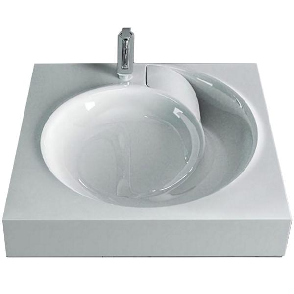 раковина kirovit престиж на стиральную машину 60 см Раковина QOPP 60 4627173210140 на стиральную машину Белая