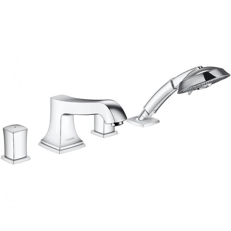 Смеситель на борт ванны Hansgrohe Metropol Classic 31315000 Хром смеситель для ванны и душа hansgrohe metropol 74540000 хром