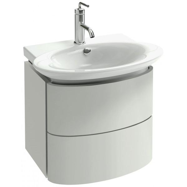 Presquile 60 подвесная Серый титанМебель для ванной<br>Подвесная тумба под раковину Jacob Delafon Presquile 60 EB1102-N21 с двумя выдвижными ящиками.<br>Изящные, мягкие линии, элегантная отделка и гладкая поверхность придадут ванной комнате настоящий французский шик. Изысканный дизайн тумбы сочетается с функциональностью.<br>Изготовлена из МДФ и покрыта глянцевым полиуретановым лаком высокого качества. Он защищает мебель от воды и механических повреждений, прост в уходе. Материалы устойчивы к выцветанию и предназначены для использования в помещениях с повышенной влажностью.<br>Два выдвижных ящика со встроенными доводчиками и внутренней отделкой красным деревом. Перегородки в ящиках позволяют удобно организовать хранение аксессуаров.<br>Мягкий и плавный ход ящиков с функцией Soft Close. Скрытые ручки с покрытием цвета хром.<br>Цвет: серый титан.<br>Монтаж: подвесной.<br>В комплекте поставки: тумба под раковину.<br>