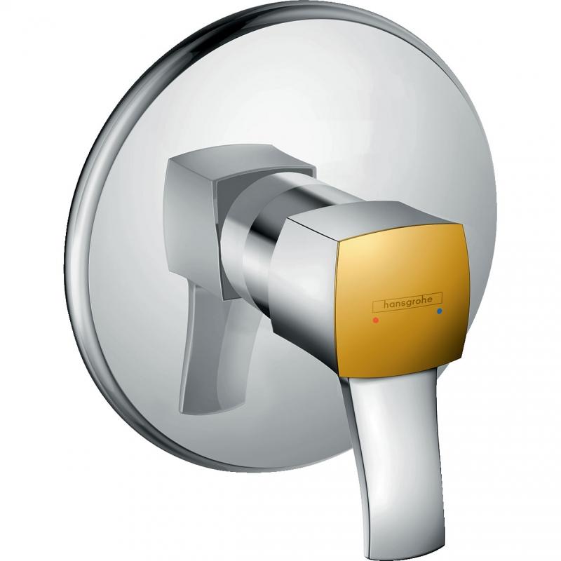 Смеситель для душа Hansgrohe Metropol Classic 31365090 Хром Золото смеситель для ванны и душа hansgrohe metropol 74540000 хром
