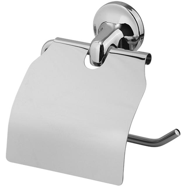 Держатель туалетной бумаги Veragio Oscar OSC-5281.CR с крышкой Хром держатель туалетной бумаги veragio oscar cromo osc 5281 cr