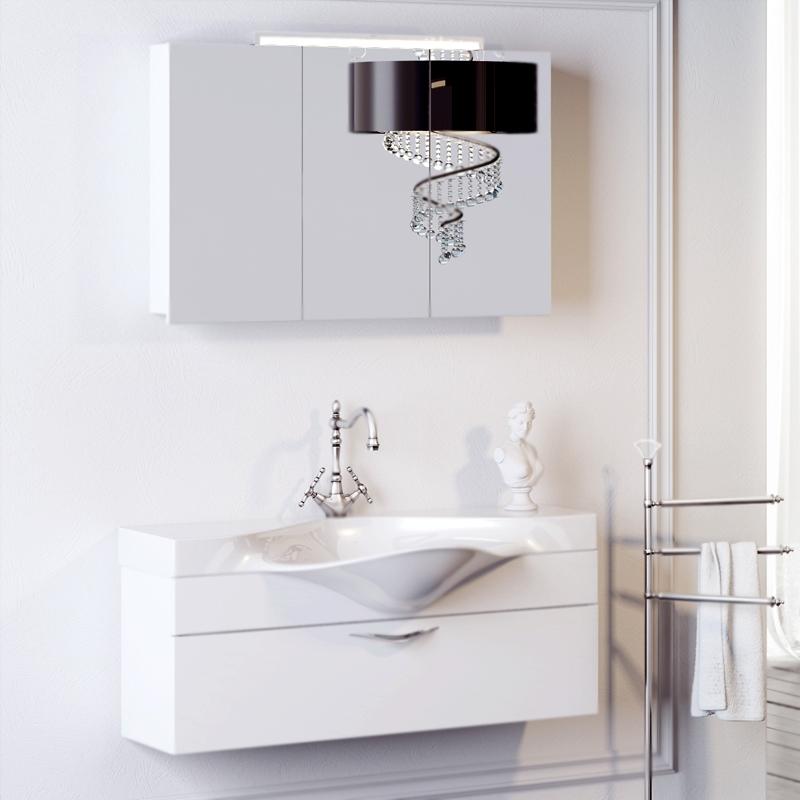 Бродвей 110 подвесная ЧернаяМебель для ванной<br>Подвесная тумба под раковину Aqwella Бродвей 110 Brw.01.10/001/BLK черная, с глянцевой поверхностью, с выдвижным ящиком с хромированной ручкой, для использования в ванных комнатах с повышенной влажностью. <br>Материал: высококачественный испанский МДФ (FINSA).<br>Покрытие: высокоглянцевая эмаль.<br>Отделка внутренних элементов: под ткань, цвет Flor textil.<br>Экологически чистые материалы.<br>Фурнитура Blum: надежность идолговечность.<br>Монтаж: подвесной, крепление к стене.<br>Отделение:<br>один выдвижной ящик, хромированная ручка.<br>Система разделения внутреннего пространства.<br>Система полного выдвижения и плавного закрывания (Blum).<br>В комплекте поставки:<br>тумба.<br>