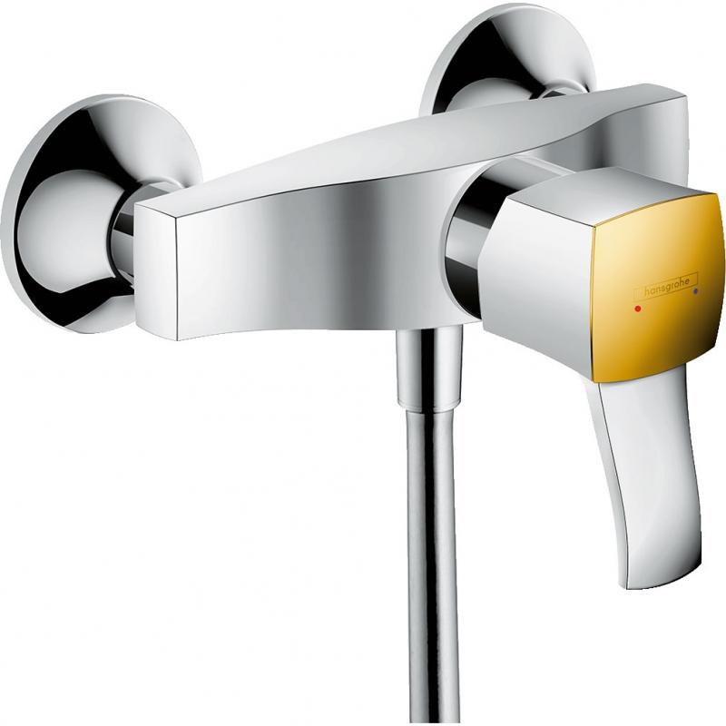 Смеситель для душа Hansgrohe Metropol Classic 31360090 Хром Золото смеситель для душа hansgrohe metropol classic 31360090