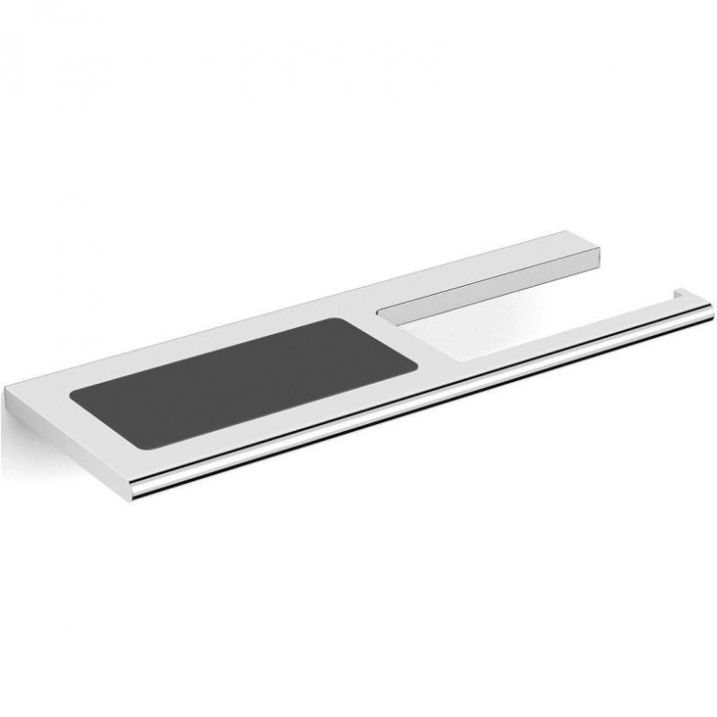 Держатель туалетной бумаги Black&White Swan SN-8043 Хром
