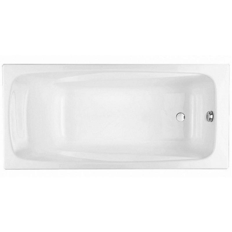 Чугунная ванна Jacob Delafon Repos 180x85 E2904-S-00 без антискользящего покрытия чугунная ванна jacob delafon repos e2904 00 180x85