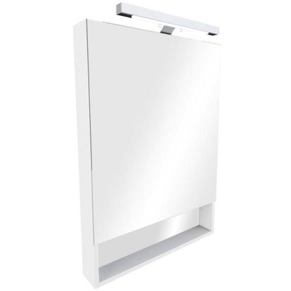 Зеркальный шкаф Roca The Gap 70 ZRU9302886 Белый глянцевый