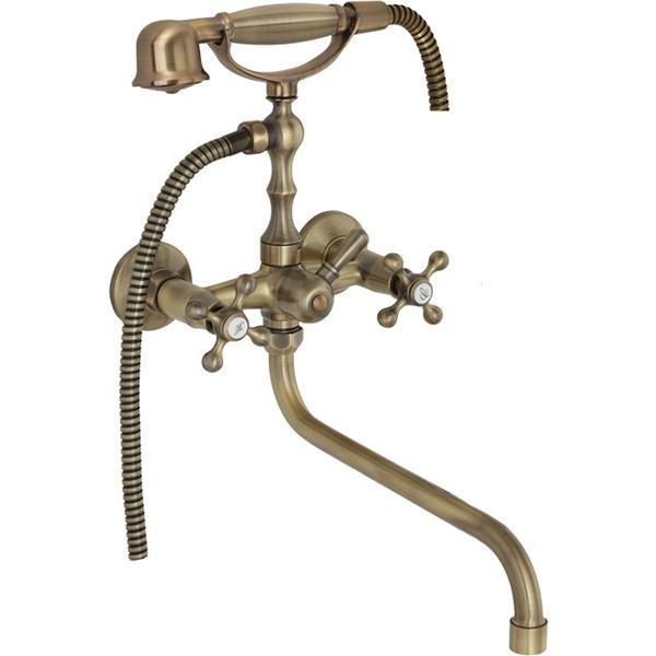 Смеситель для ванны Veragio Agatha VR.AGT-3705.BR универсальный Бронза