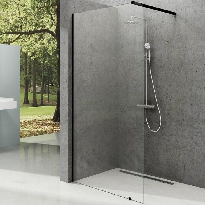 Душевая перегородка Ravak Walk-In Wall ST 1500x2000 GW9WP0300Z1 профиль Черный стекло Transparent