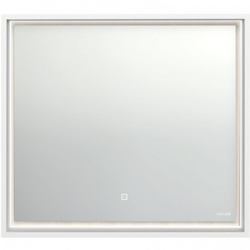 Зеркало Cersanit Louna 80 LU-LOU80-Os с подсветкой Белый глянец с сенсорным выключателем