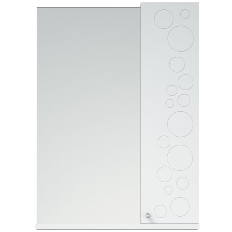 Зеркало со шкафом Corozo Орфей 50 SD-00000299 Белое