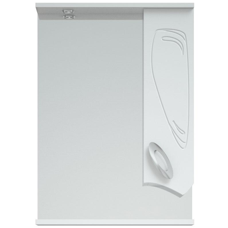 Зеркало со шкафом Corozo Лидер 50 SD-00000293 с подсветкой Белое