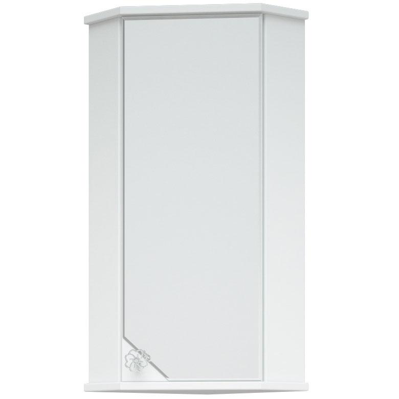 Зеркальный шкаф Corozo Флоренция 40 SD-00000018 угловой Белый