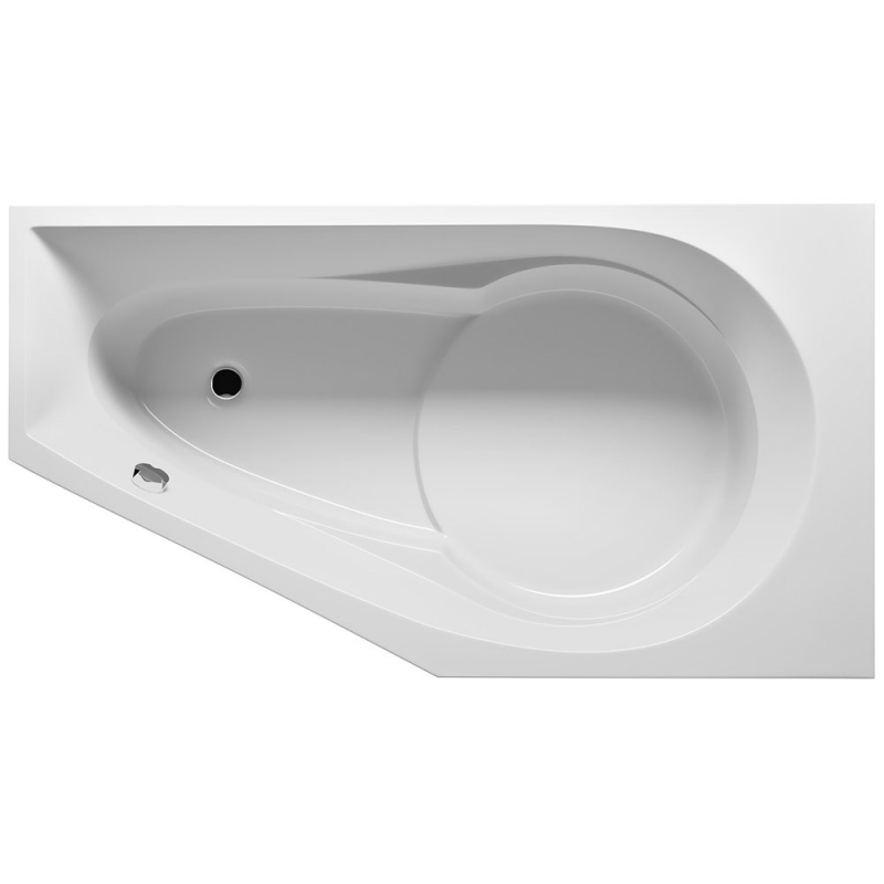 Акриловая ванна Riho Yukon 160х90 L BD7500500000000 без гидромассажа ножки riho yukon pootset09