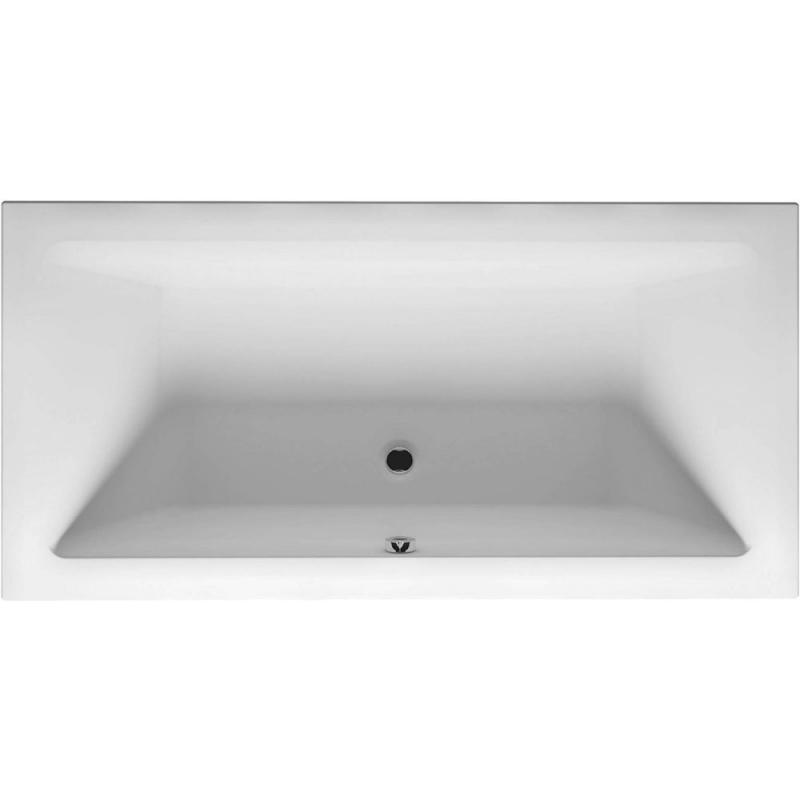 Фото - Акриловая ванна Riho Lugo 200х90 R BD7100500000000 без гидромассажа акриловая ванна 200х90 см riho lugo bt0600500000000