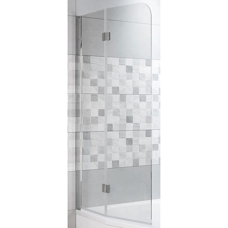 Фото - Шторка на ванну Riho Novik Z500 90 GZT9200089 профиль Хром стекло прозрачное душевая перегородка riho novik z400 90 gz4090000 профиль хром стекло прозрачное