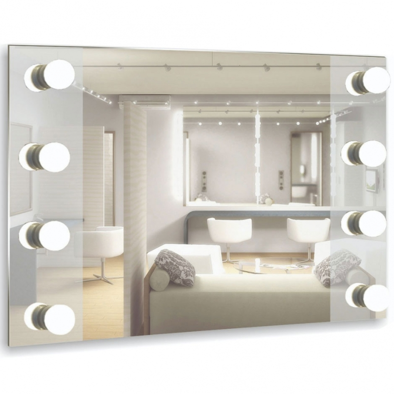 Зеркало Mixline Премьер Мерлин 80 530936 8 цоколей