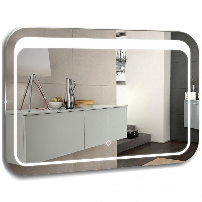Зеркало Mixline Премьер Пульсар 80 539794 с подсветкой с сенсорным выключателем