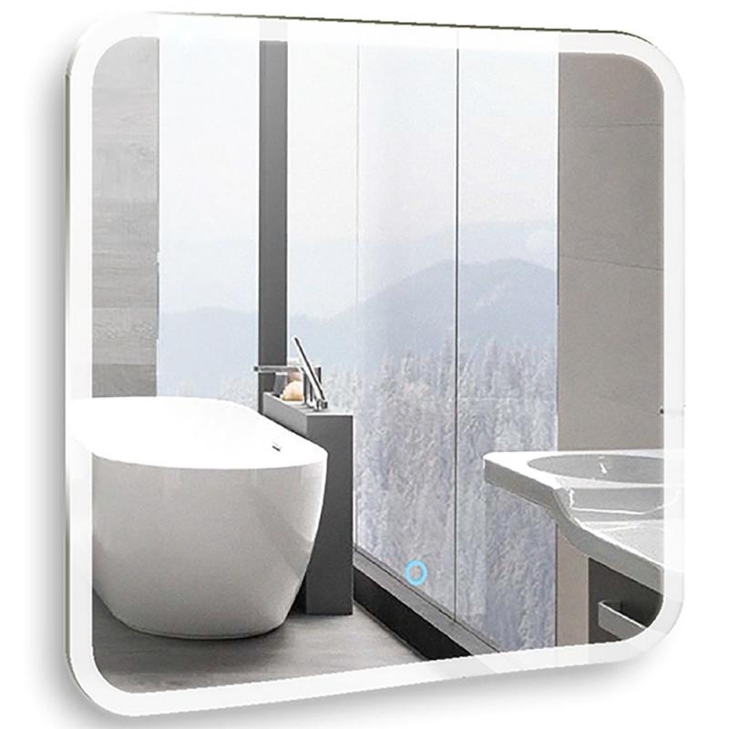 Зеркало Mixline Премьер Стив 80 536552 с подсветкой с сенсорным выключателем