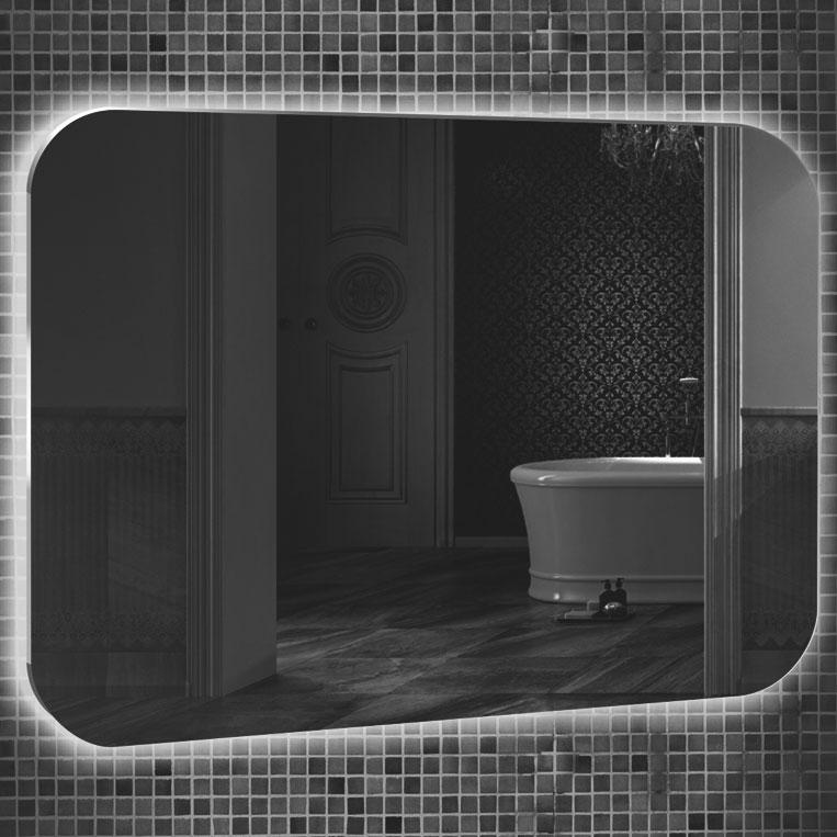 Зеркало Mixline Премьер Шампань 80 533695 с подсветкой с сенсорным выключателем