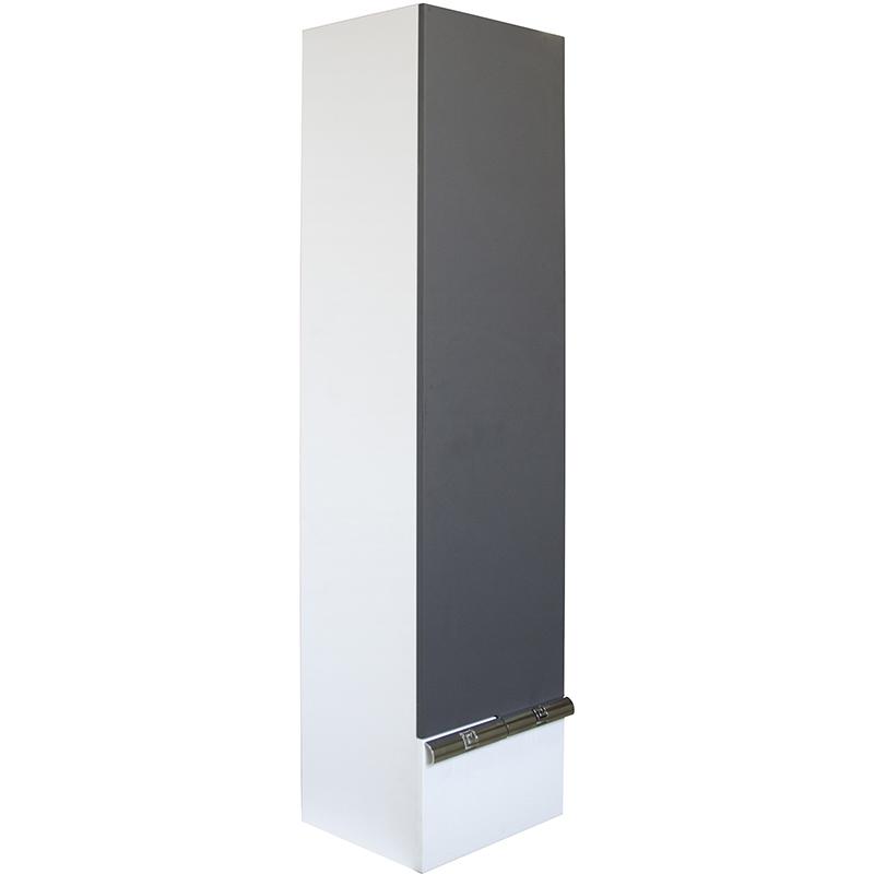 Шкаф пенал Mixline Исида 36 L 539622 подвесной Белый Графит шкаф пенал laufen pro new 35 подвесной l белый матовый