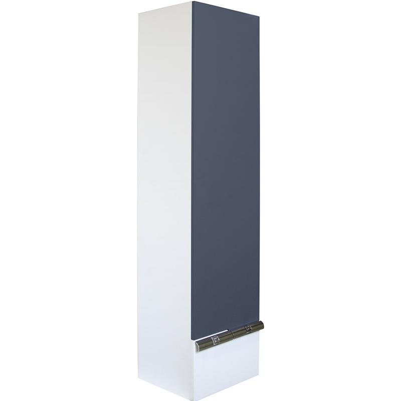 Шкаф пенал Mixline Исида 36 L 539627 подвесной Белый Индиго шкаф пенал laufen pro new 35 подвесной l белый матовый