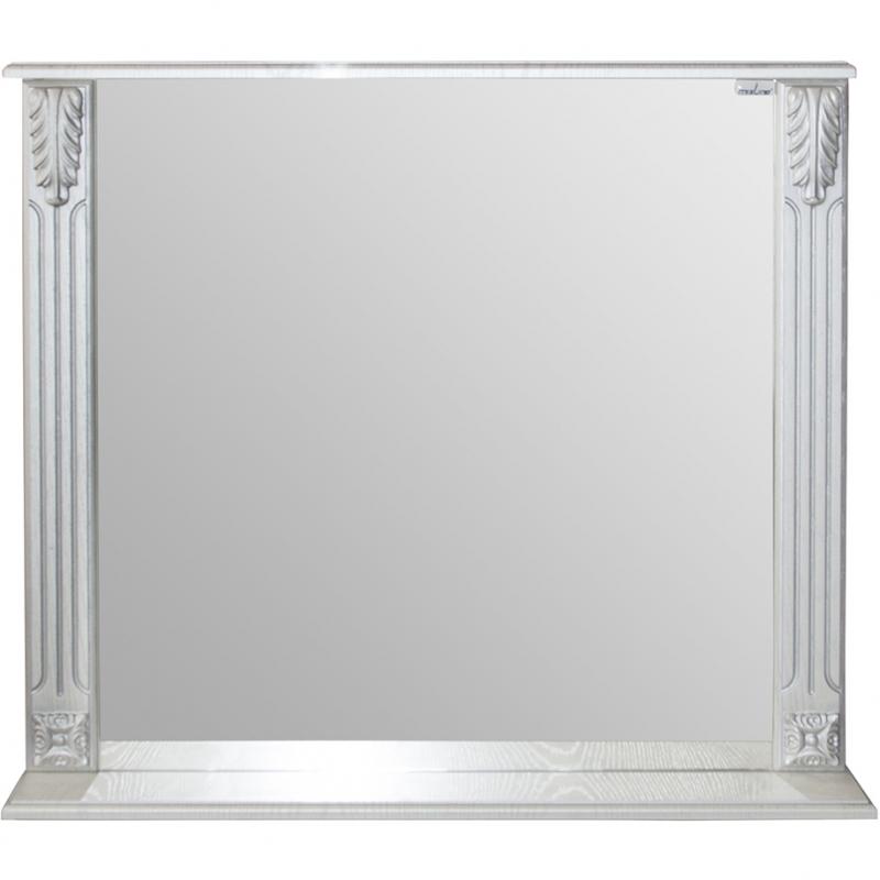 Зеркало Mixline Людвиг 80 533040 Патина серебро