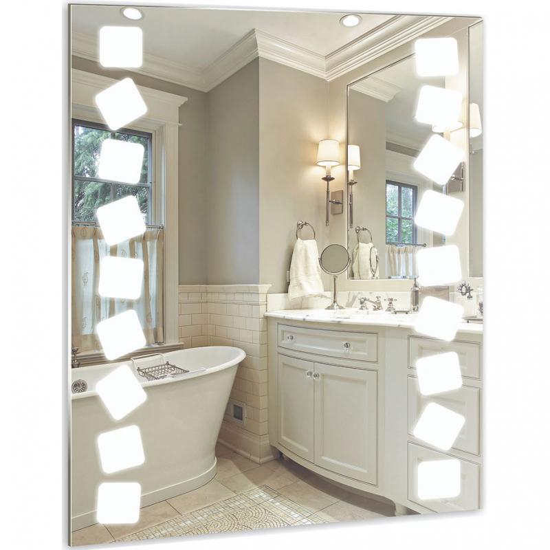 Зеркало Mixline Стиль Карат 60 525404 с подсветкой с пескоструйным рисунком зеркало mixline карат 525404 60 80 см без рамы