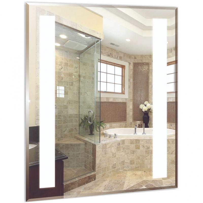 Зеркало Mixline Стиль Танго 60 525414 с подсветкой с пескоструйным рисунком