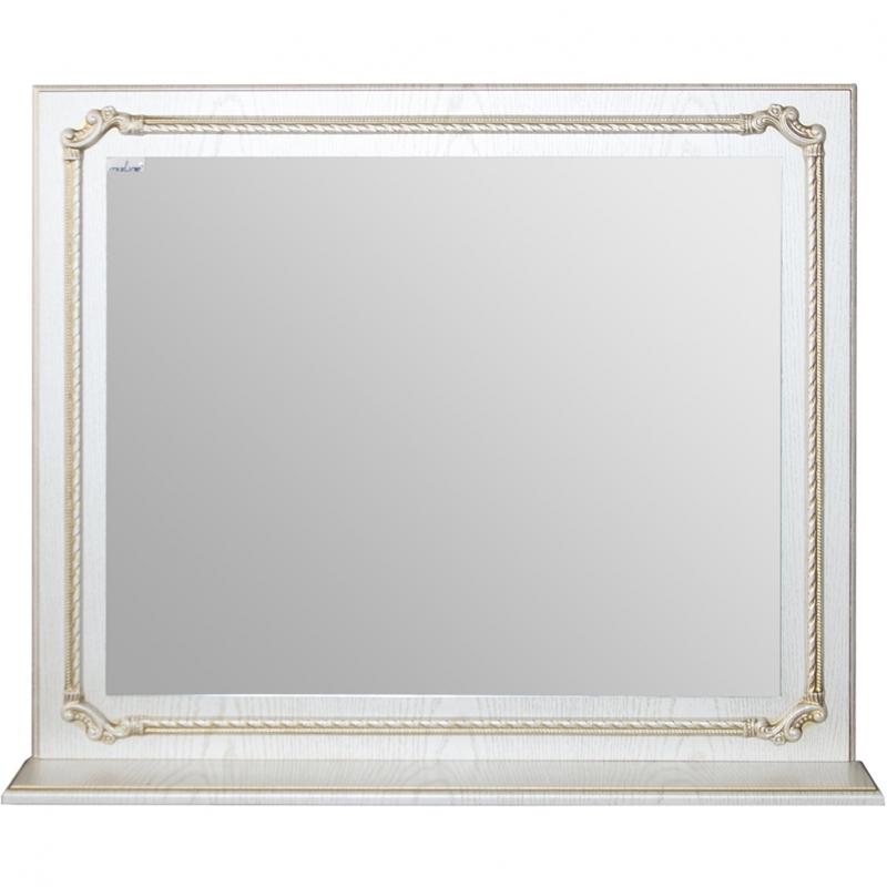 Зеркало Mixline Сальери 80 533043 Патина золото шкаф пенал mixline сальери 35 l 534731 патина золото