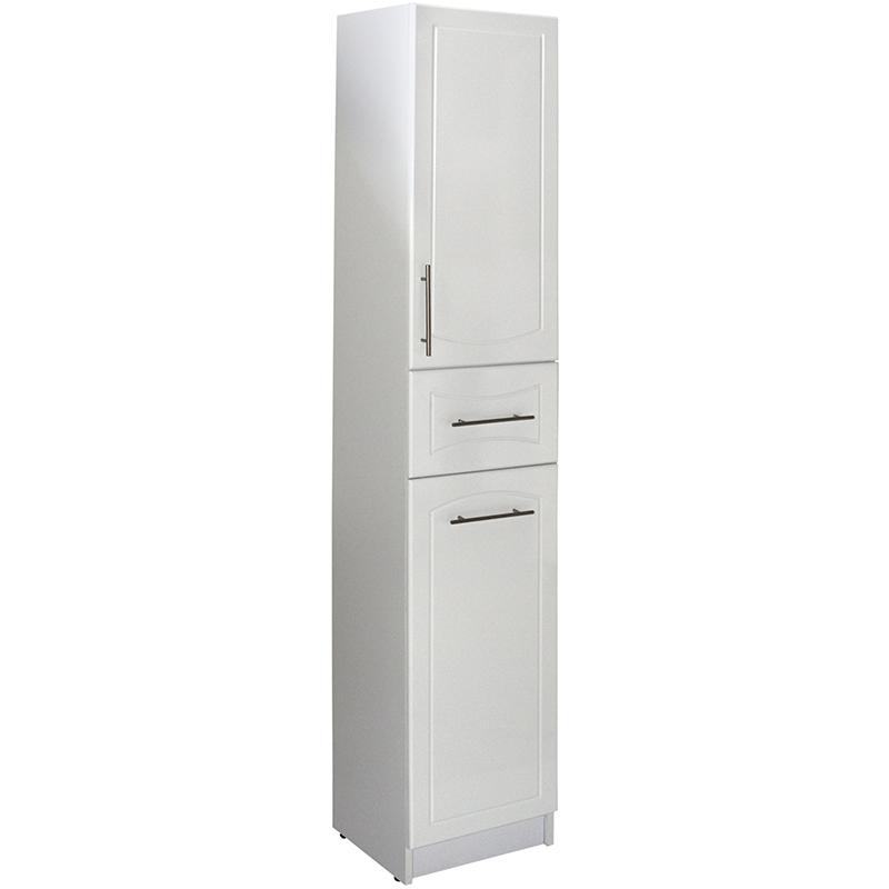 Шкаф пенал Mixline Вилена 35 R 524719 с бельевой корзиной Белый шкаф пенал francesca империя 30 с корзиной для белья r белый