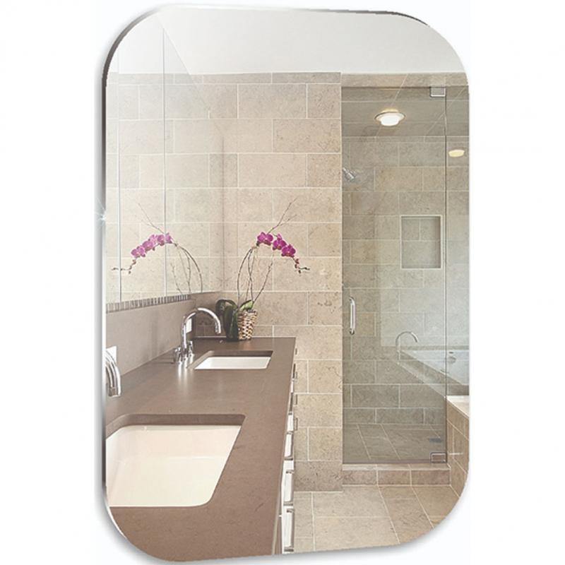 Зеркало Mixline Комфорт Выбор 55 537559 с полированной кромкой