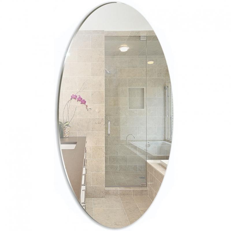 Зеркало Mixline Комфорт 35 525519 с полированной кромкой