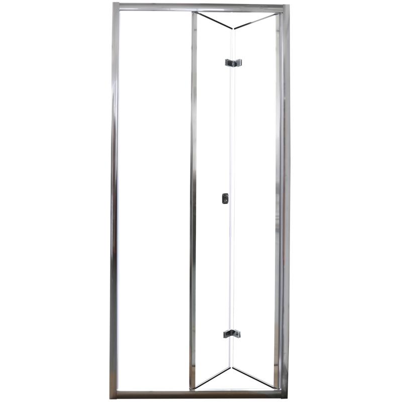 Фото - Душевая дверь Cerutti SPA Bella D101T профиль Хром стекло прозрачное душевая дверь cerutti spa bella d81t 80х195 хром