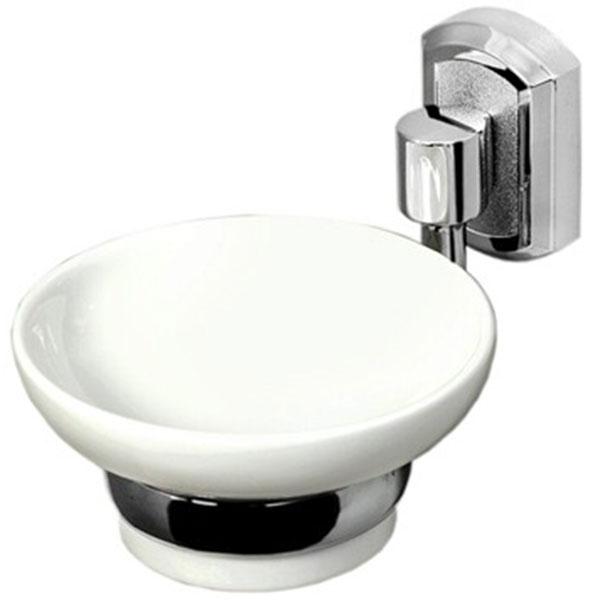 Мыльница WasserKRAFT K-24129 Хром Белая мыльница wasserkraft k 24229 хром белая