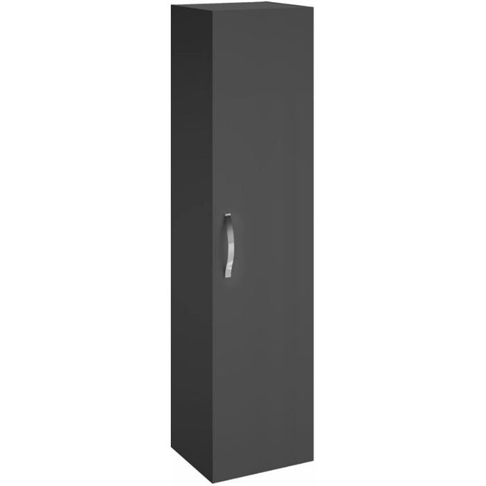 Шкаф пенал Jacob Delafon Ola 35 EB396-N14 подвесной Серый антрацит