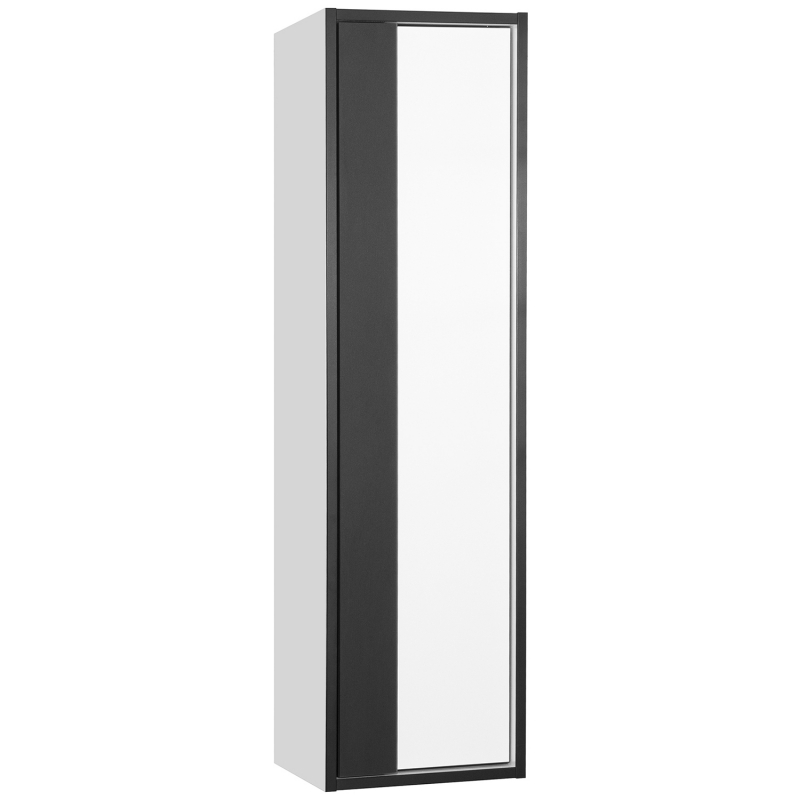 Шкаф пенал Style Line Амстердам 30 ЛС-000010043 подвесной Белый матовый шкаф пенал style line эко фьюжн лс 00000257