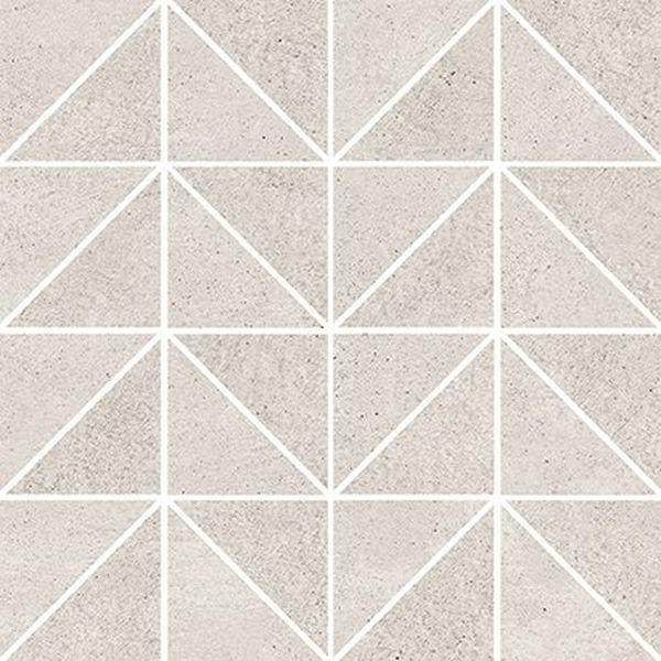 Керамическая мозаика Mei Keep Calm треугольники серый O-KCM-WIE091 29х29 см
