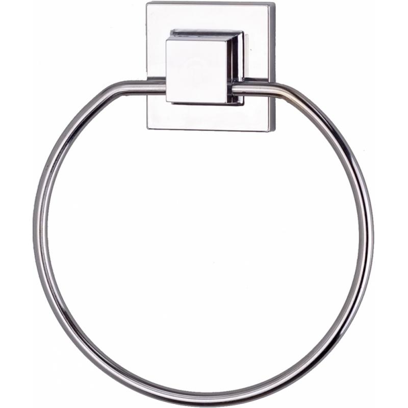 Кольцо для полотенец Tekno-tel EF235 Хром держатель для полотенец tekno tel mg034