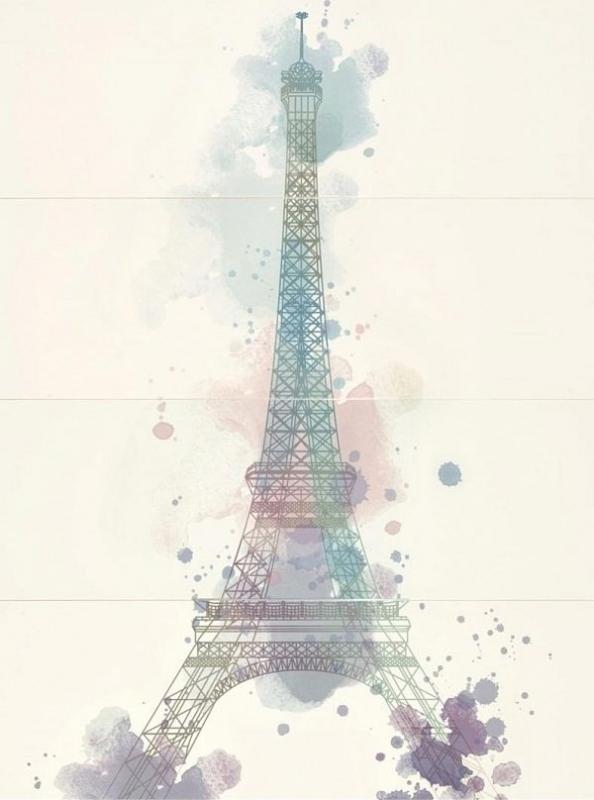 Керамическое панно Mei Parisen многоцветный O-PAI-WPU454-16 75х100 см арти м 75х100 см звездный зайчик