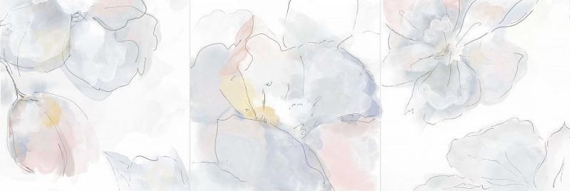 Керамический декор CRETO Aurora Moon 07-00-5-17-00-01-2422 20х60 см керамическая плитка creto aurora peas 00 00 5 17 00 01 2420 настенная 20х60 см