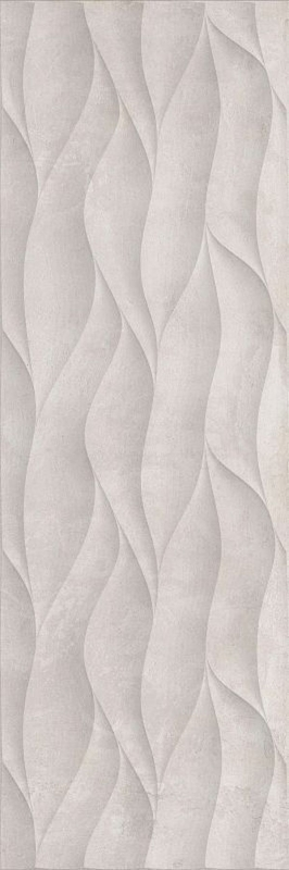 Керамический декор CRETO Pacific Ivory W M/STR R Satin 1 СDE20W29310B 30х90 см