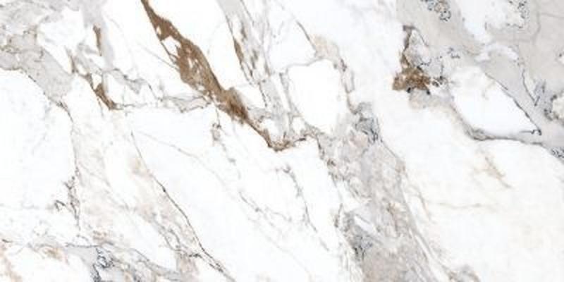 Керамогранит Vitra Marble-X Бреча Капрайа Белый Лаппато Ректификат K949747LPR 60х120 см