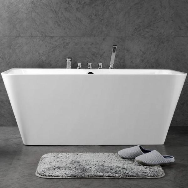Акриловая ванна BelBagno BB19-1500-750 без гидромассажа kenzo eau de fleur de soie silk туалетная вода тестер 50 мл