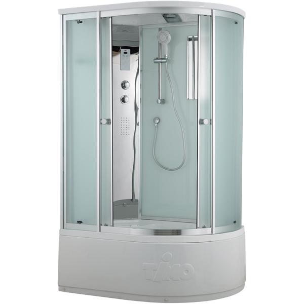Фото - Душевая кабина Timo Comfort 120x85 L T-8820LF Fabric Glass с гидромассажем 80700