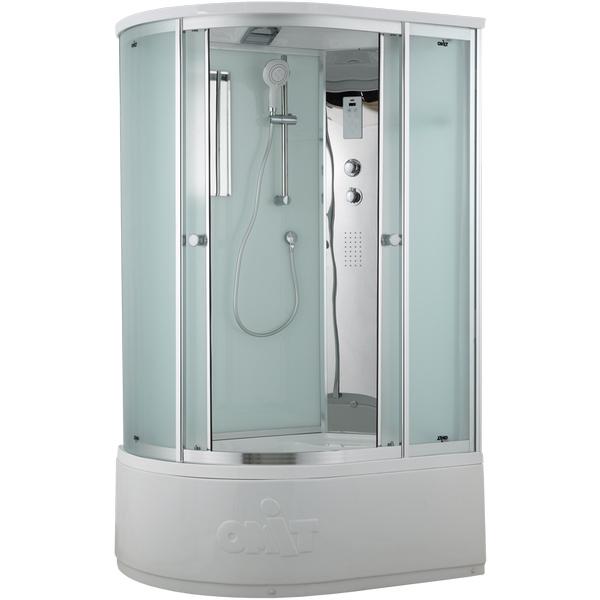 Фото - Душевая кабина Timo Comfort 120x85 R T-8820RF Fabric Glass с гидромассажем 80700