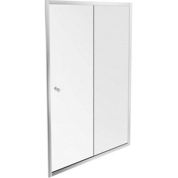 Фото - Душевая дверь Jacob Delafon Serenity 120 E14C120-GA профиль Хром стекло прозрачное дверь для сауны стеклянная doorwood dw01028 восточная арка прозрачная 800х2000 мм