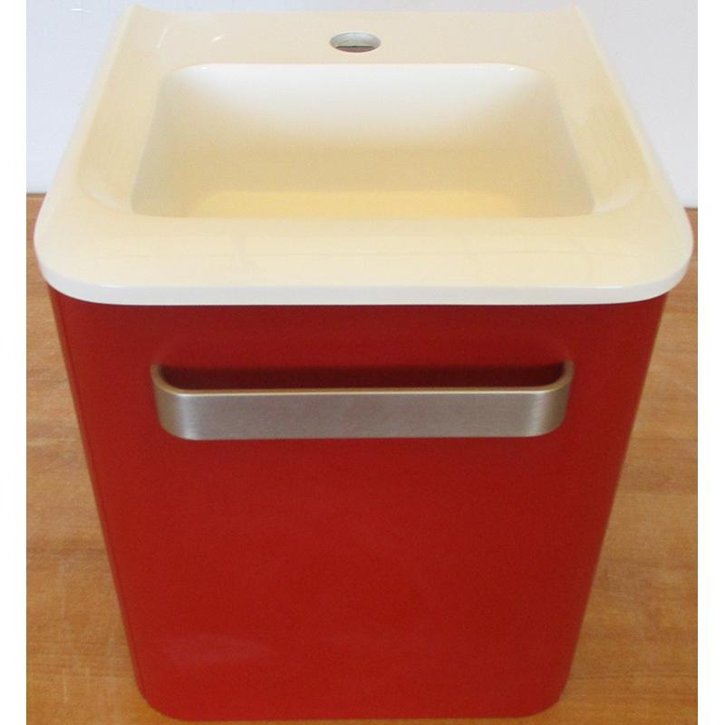 Комплект мебели для ванной Gorenje Jazz Small 35 F35.02 R Красный матовый недорого